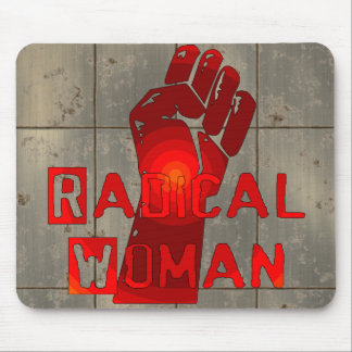 Radical Woman Mouse Pad