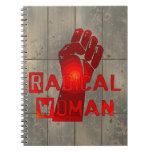 Radical Woman Note Book