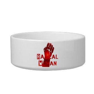 Radical Woman Pet Bowl