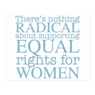 Radical Women Postcard