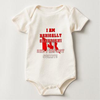 Radically Canadain Baby Bodysuit