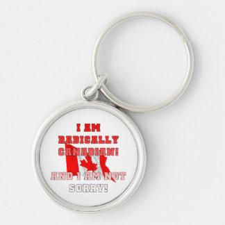 Radically Canadain Keychain