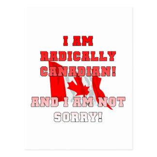 Radically Canadain Postcard