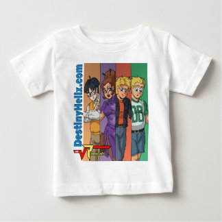"""Radicals Main Cast - """"Color Bars"""" Baby T-Shirt"""