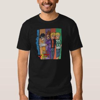 "Radicals Main Cast - ""Color Bars"" (Dark) T-shirt"
