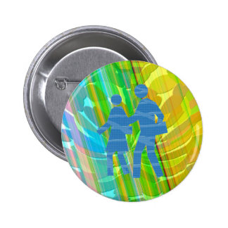 Radient - Golden Rainbow Button