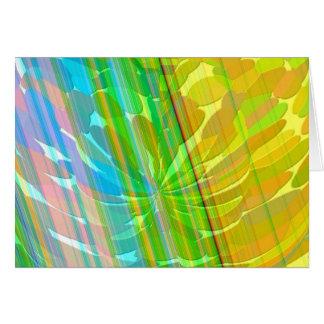 Radient - Golden Rainbow Card