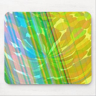 Radient - Golden Rainbow Mouse Pad