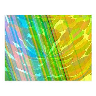 Radient - Golden Rainbow Postcard