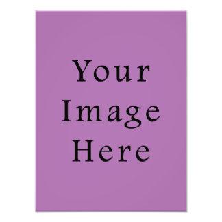 Radient Orchid Violet Light Purple Color Template Photo Print