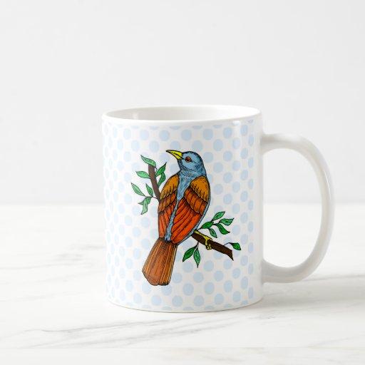 Radient Robin Coffee Mug