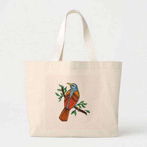 Radient Robin Tote Bag