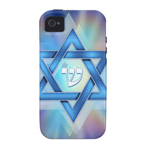Radient Star of David iPhone 4 Cover