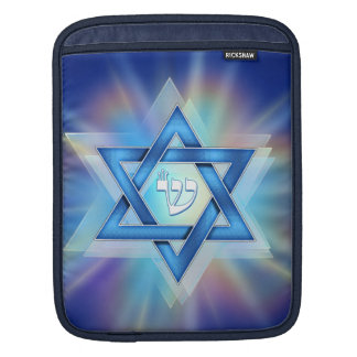 Radient Star of David Sleeves For iPads