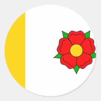 Radimovice u Zelce, Czech Classic Round Sticker