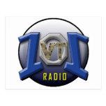 RADIO 101 DEL VT TARJETA POSTAL