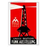 Radio 1926 + Poster de la difusión Felicitaciones