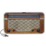Radio 1 del vintage mp3 altavoces