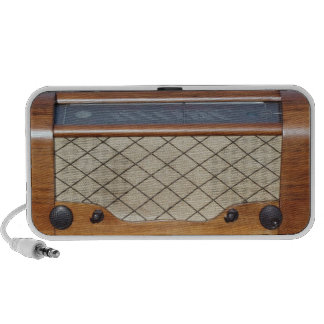 Radio 1 del vintage mp3 altavoces