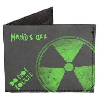 Radio Active Graffiti Billfold Wallet