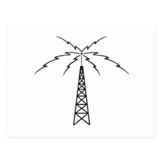 Radio Antenna Postcard