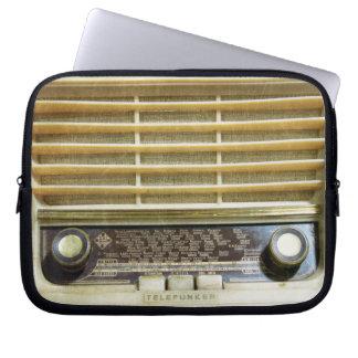 radio antigua manga computadora