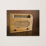 Radio antigua rompecabezas