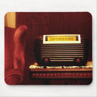 Radio antigua tapete de raton
