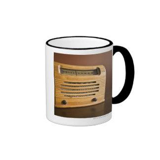 Radio antigua tazas