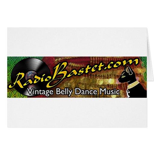 Radio Bastet Greeting Card