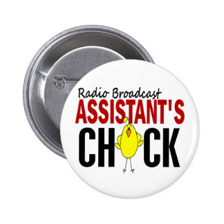 RADIO BROADCAST ASSISTANT'S CHICK BUTTON