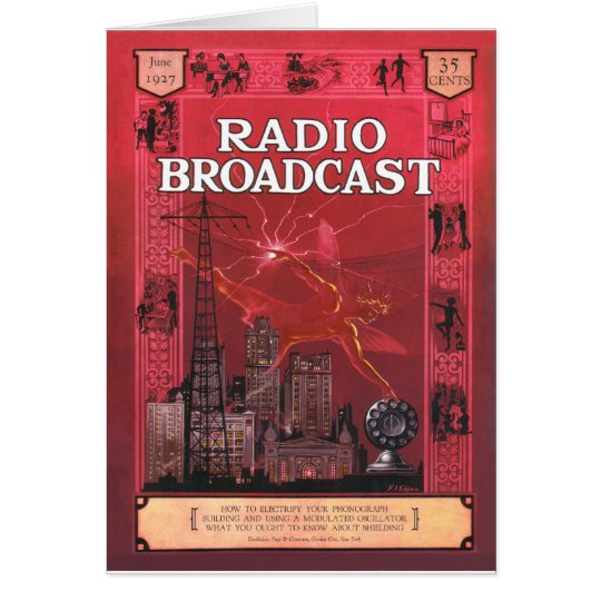 Radio Broadcast-Red Card