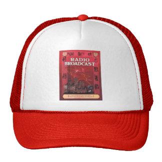 Radio Broadcast-Red Trucker Hat