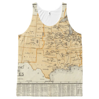 Radio Broadcasting Stations Of The United States All-Over-Print Tank Top