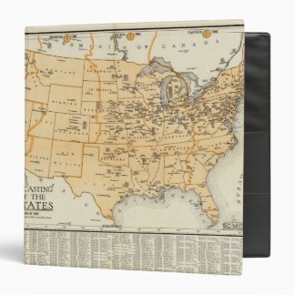 Radio Broadcasting Stations Of The United States Vinyl Binder