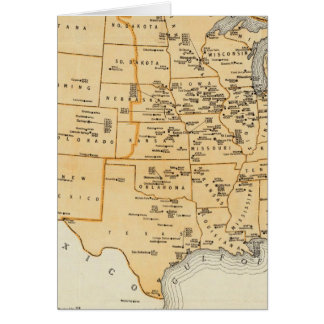 Radio Broadcasting Stations Of The United States Greeting Cards