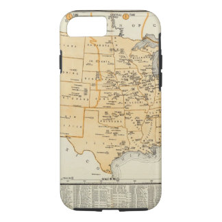 Radio Broadcasting Stations Of The United States iPhone 8/7 Case