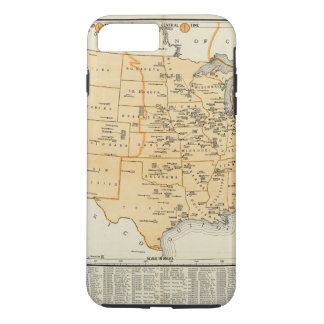 Radio Broadcasting Stations Of The United States iPhone 8 Plus/7 Plus Case