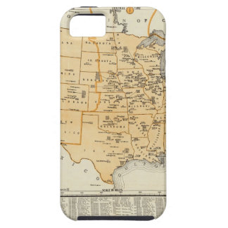 Radio Broadcasting Stations Of The United States iPhone SE/5/5s Case