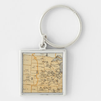 Radio Broadcasting Stations Of The United States Keychain
