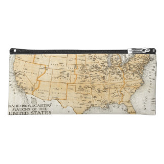 Radio Broadcasting Stations Of The United States Pencil Case