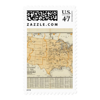 Radio Broadcasting Stations Of The United States Postage