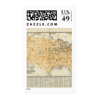 Radio Broadcasting Stations Of The United States Postage Stamps