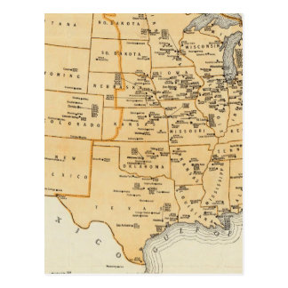 Radio Broadcasting Stations Of The United States Postcard