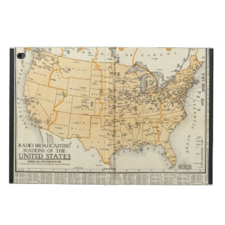 Radio Broadcasting Stations Of The United States Powis iPad Air 2 Case