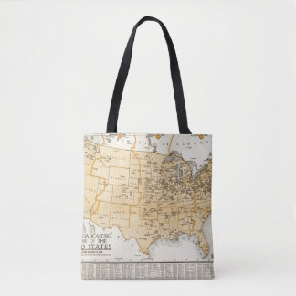 Radio Broadcasting Stations Of The United States Tote Bag