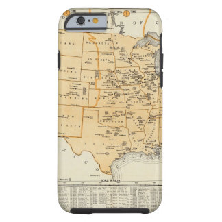 Radio Broadcasting Stations Of The United States Tough iPhone 6 Case