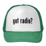 ¿radio conseguida? gorra