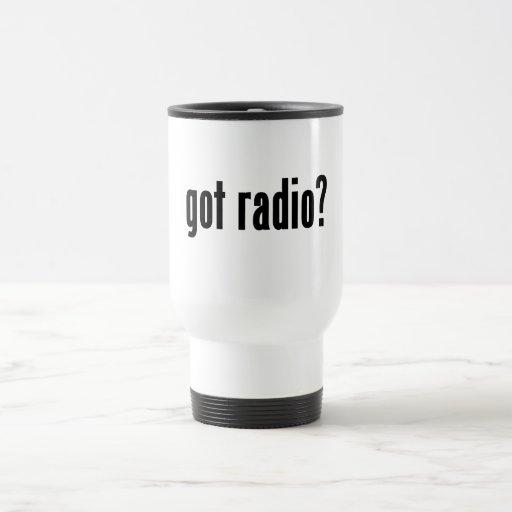 ¿radio conseguida? tazas de café
