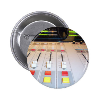 radio console pinback buttons